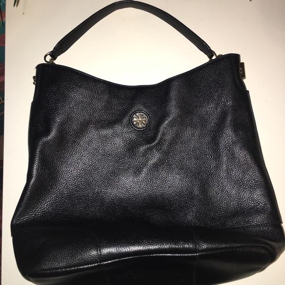 0ca78a7f40b 🔥SALE🔥Tory Burch City Leather Hobo Shoulder Bag.  M 5adb6e342ab8c55b7ae2370c